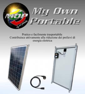 pannello solare portatile