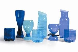 Riciclo creativo bottiglie plastica