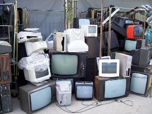 riciclo televisori tubo catodico