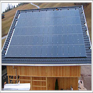 impianto fotovoltaico ad isola