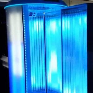 doccia esterna solare